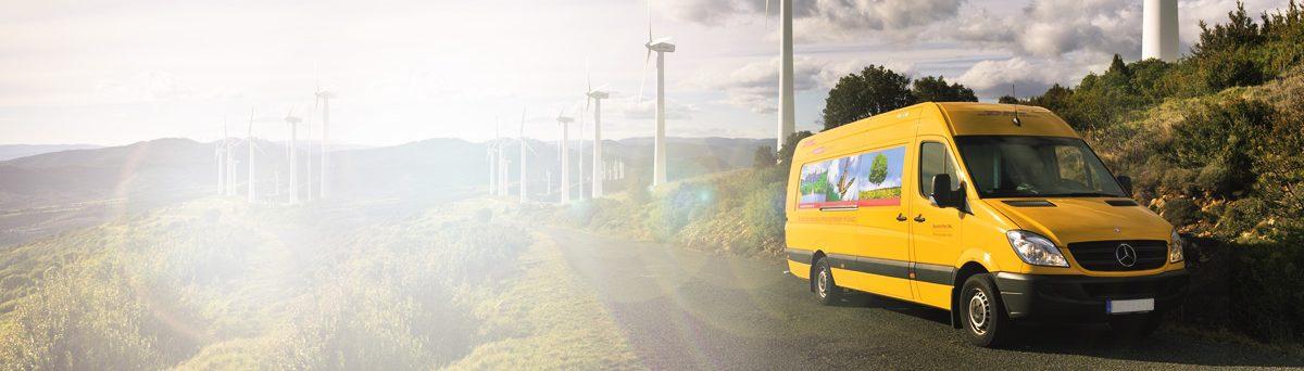 DHL Klimaneutraler Versand